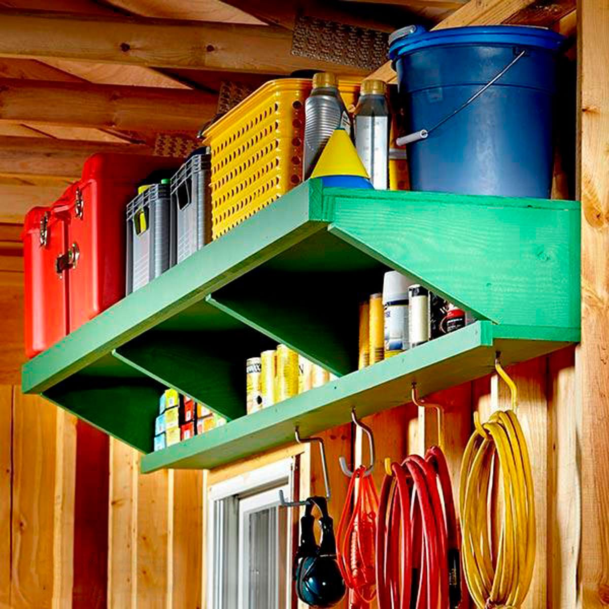double decker storage shelves