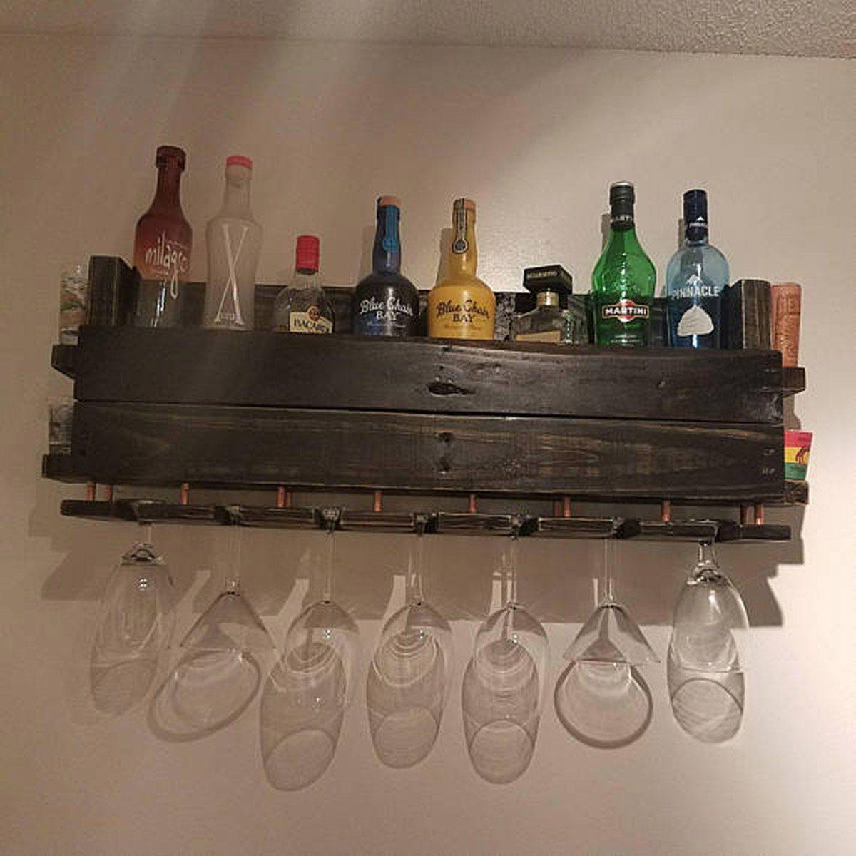 hanging bar rack