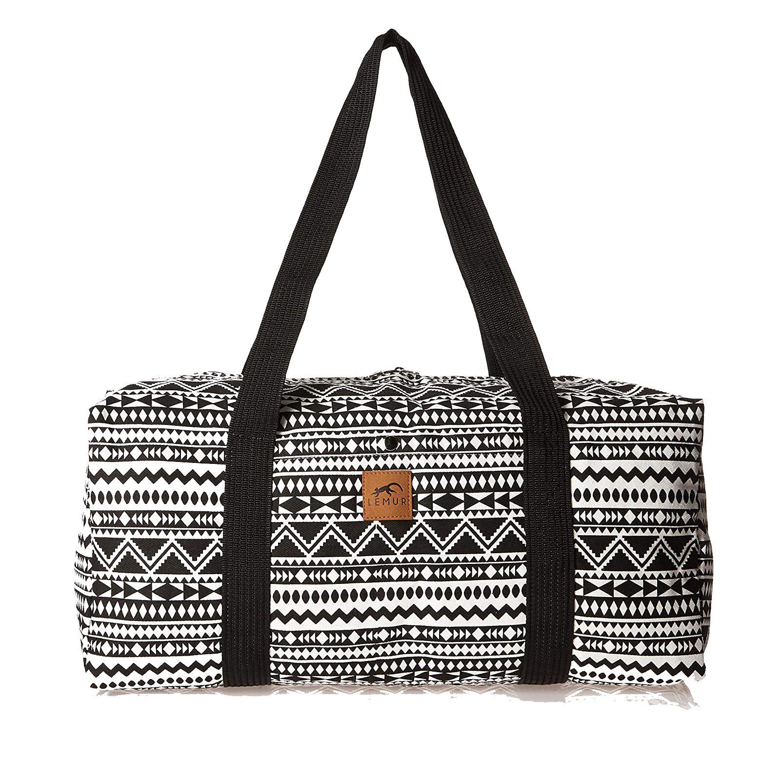 Lemur Bags 20″ Canvas Weekender Travel Duffel Bag