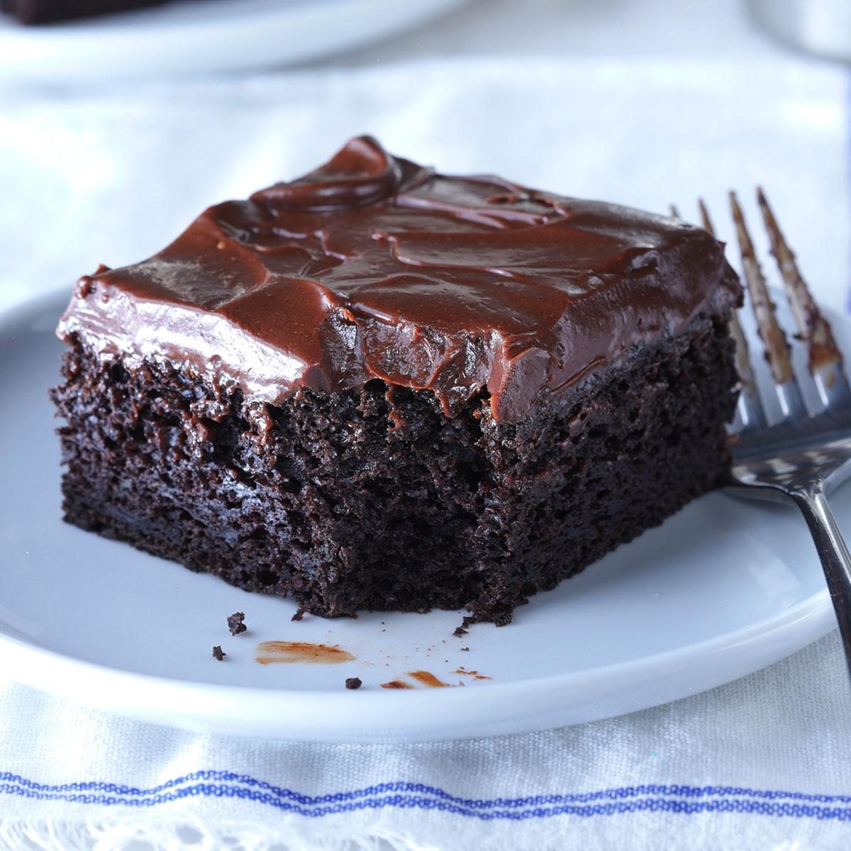 Sue's Chocolate Zucchini Cake