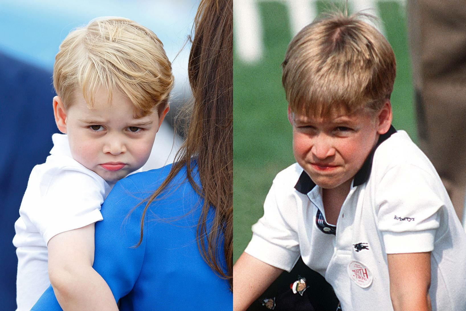 george and william the royals
