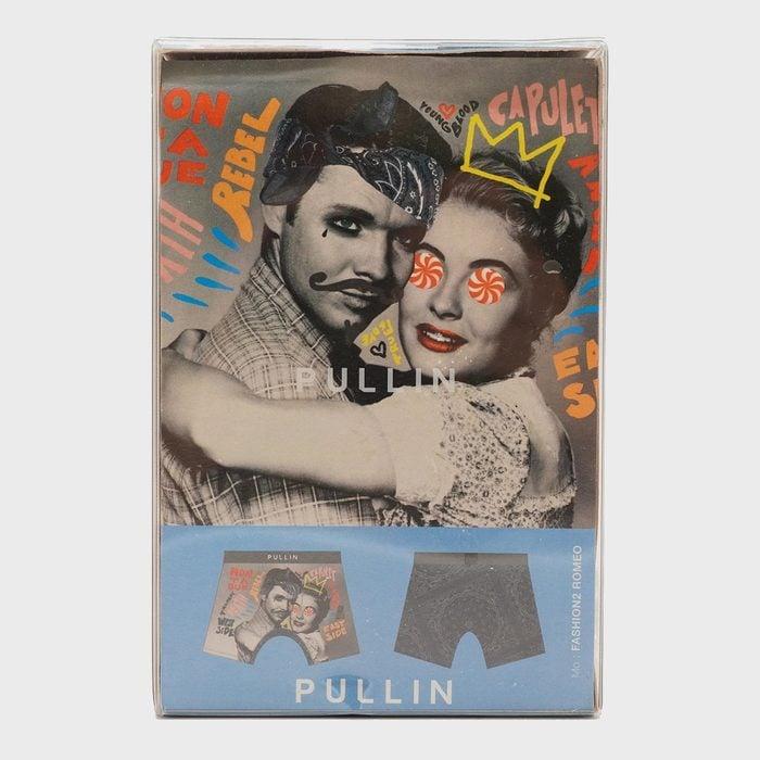 Gray Romeo Graphic Boxer Briefs Via Unclaimedbaggage