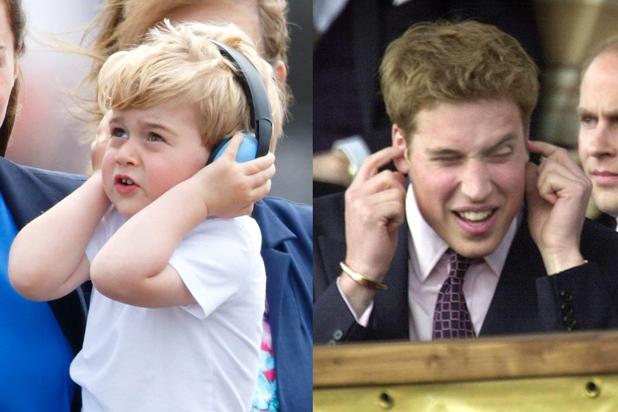 loud noises royal family george and william