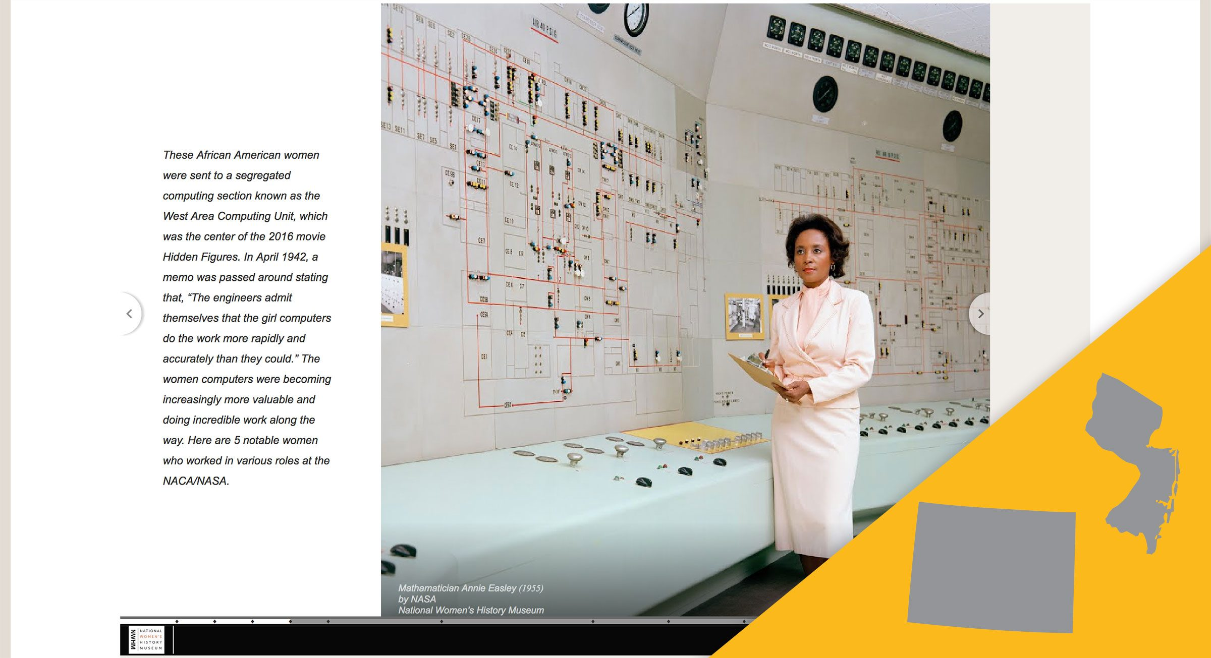 National Women's History Museum virtual tour