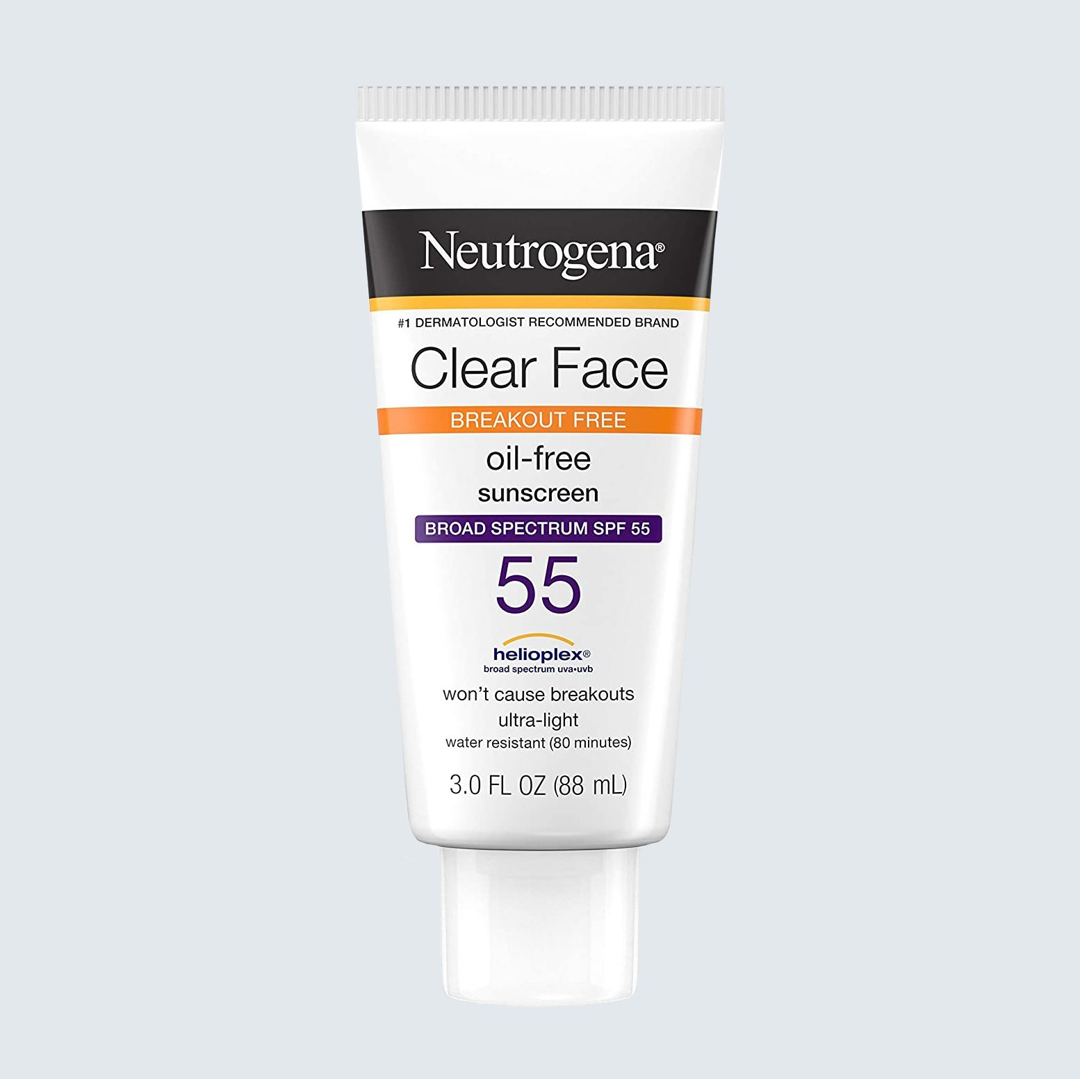 Neutrogena Clear Face Broad Spectrum SPF 55