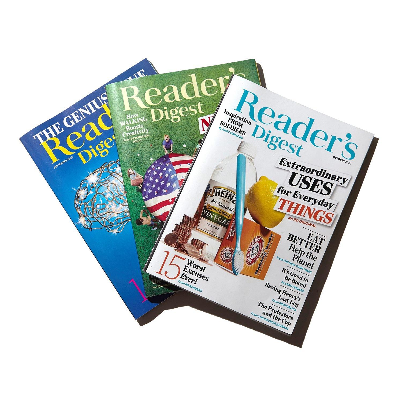 readers digest magazines
