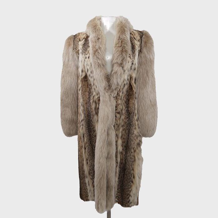 Spotted Lynx Fur Coat