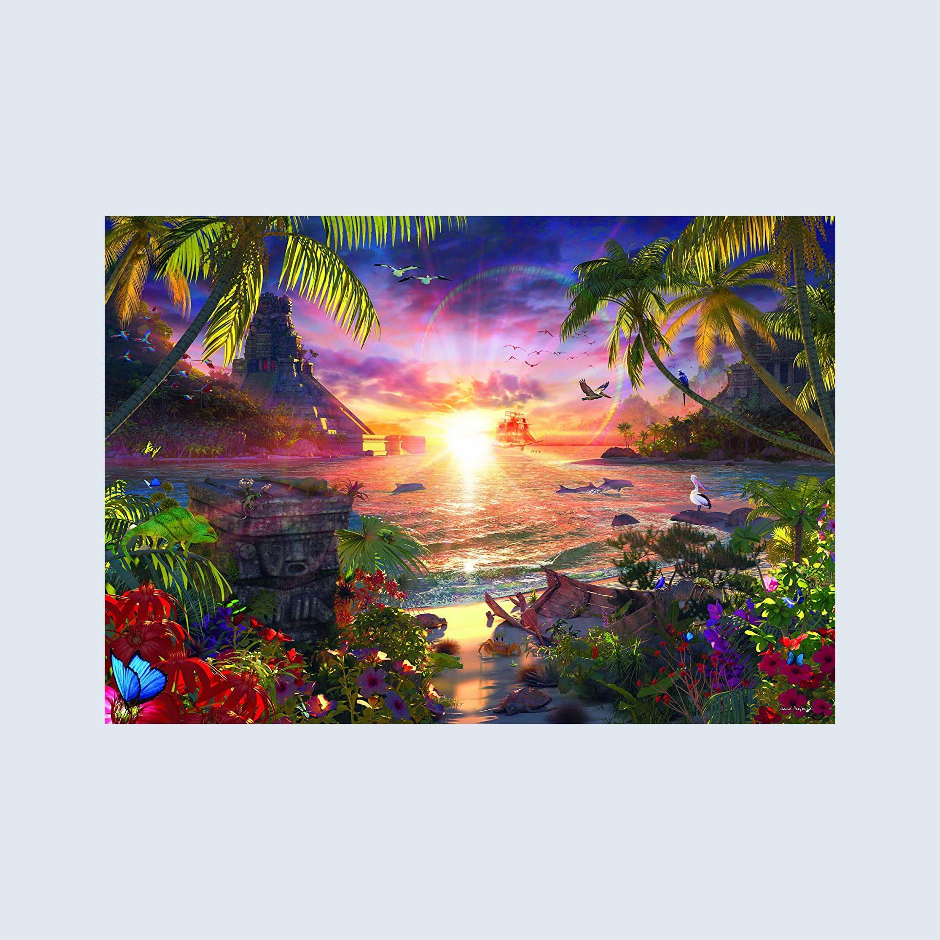 Paradise Sunset puzzle
