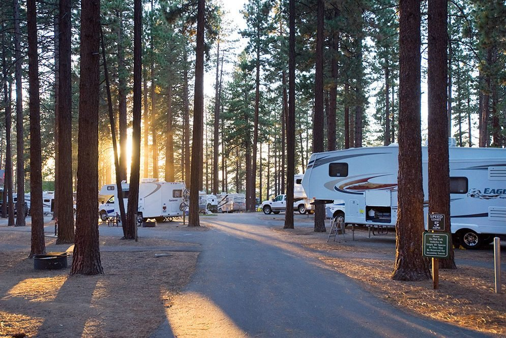 Zephyr Cove RV and Campground, Zephyr Cove, Nevada