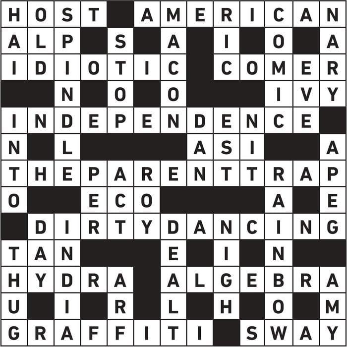 jun20 crosswords answer