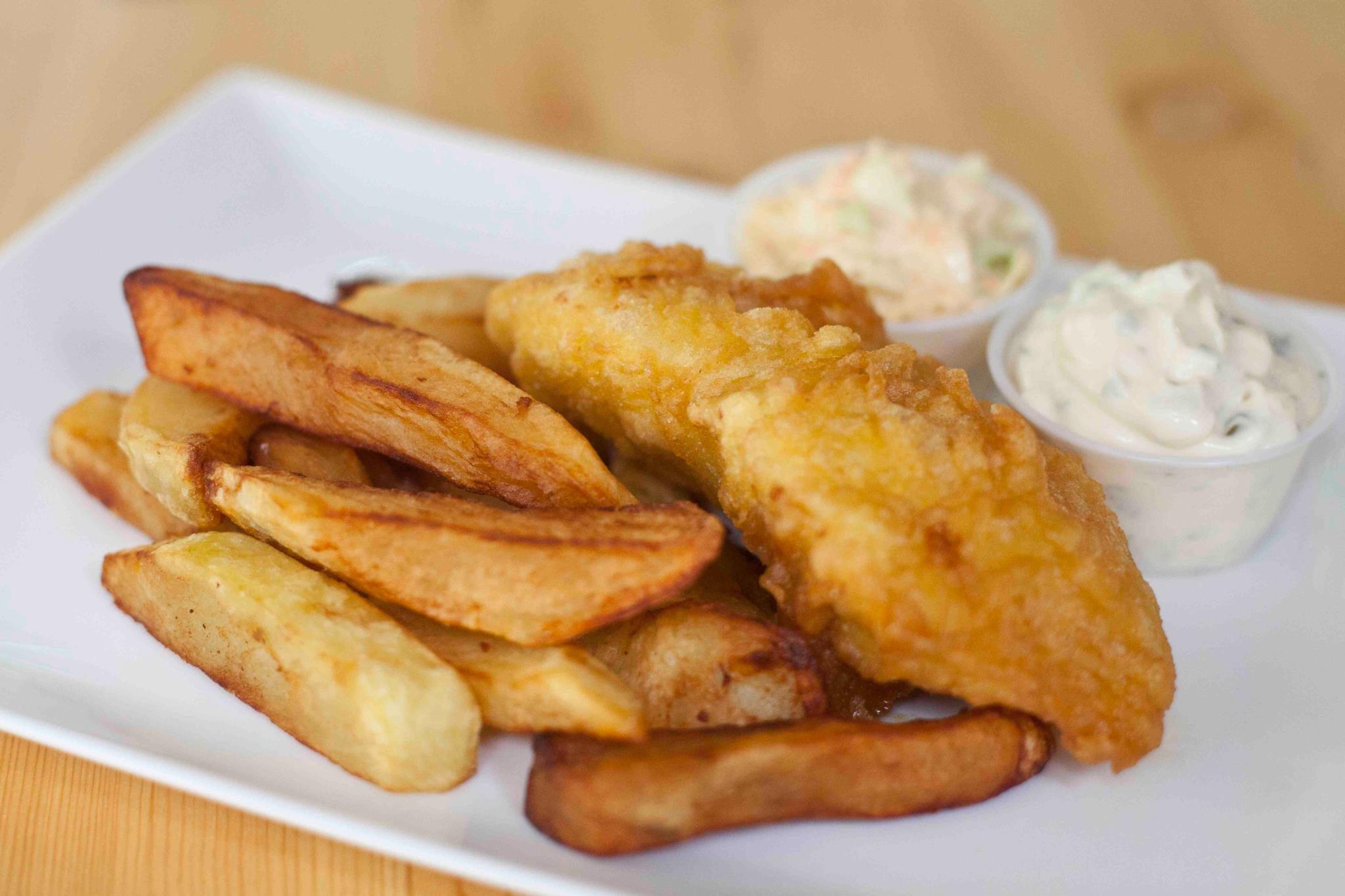 fish sticks and fries