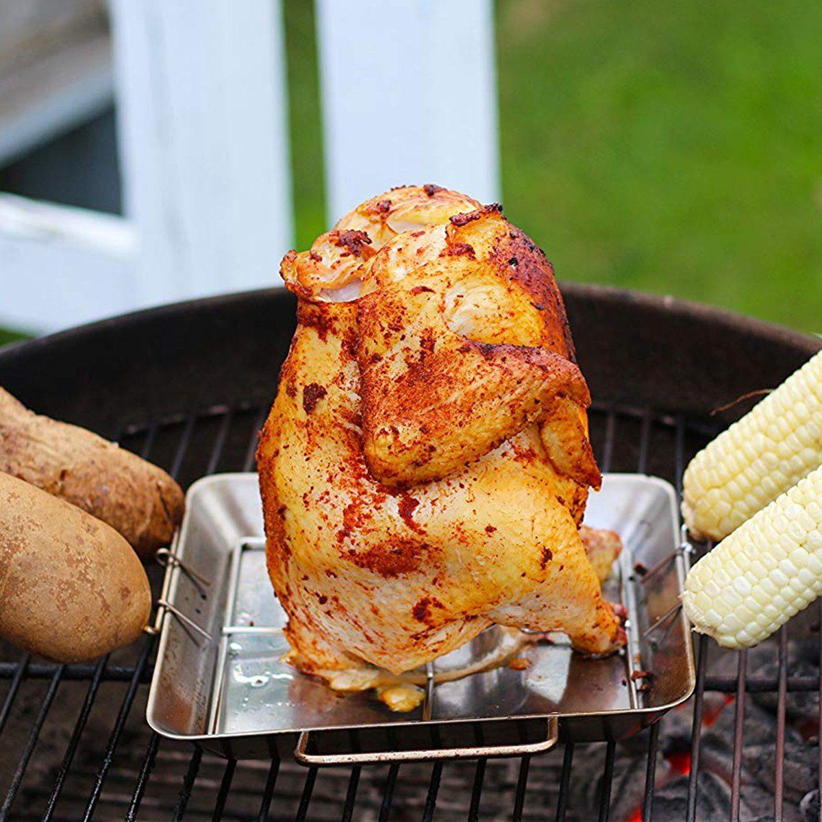 beer can chicken roaster rack