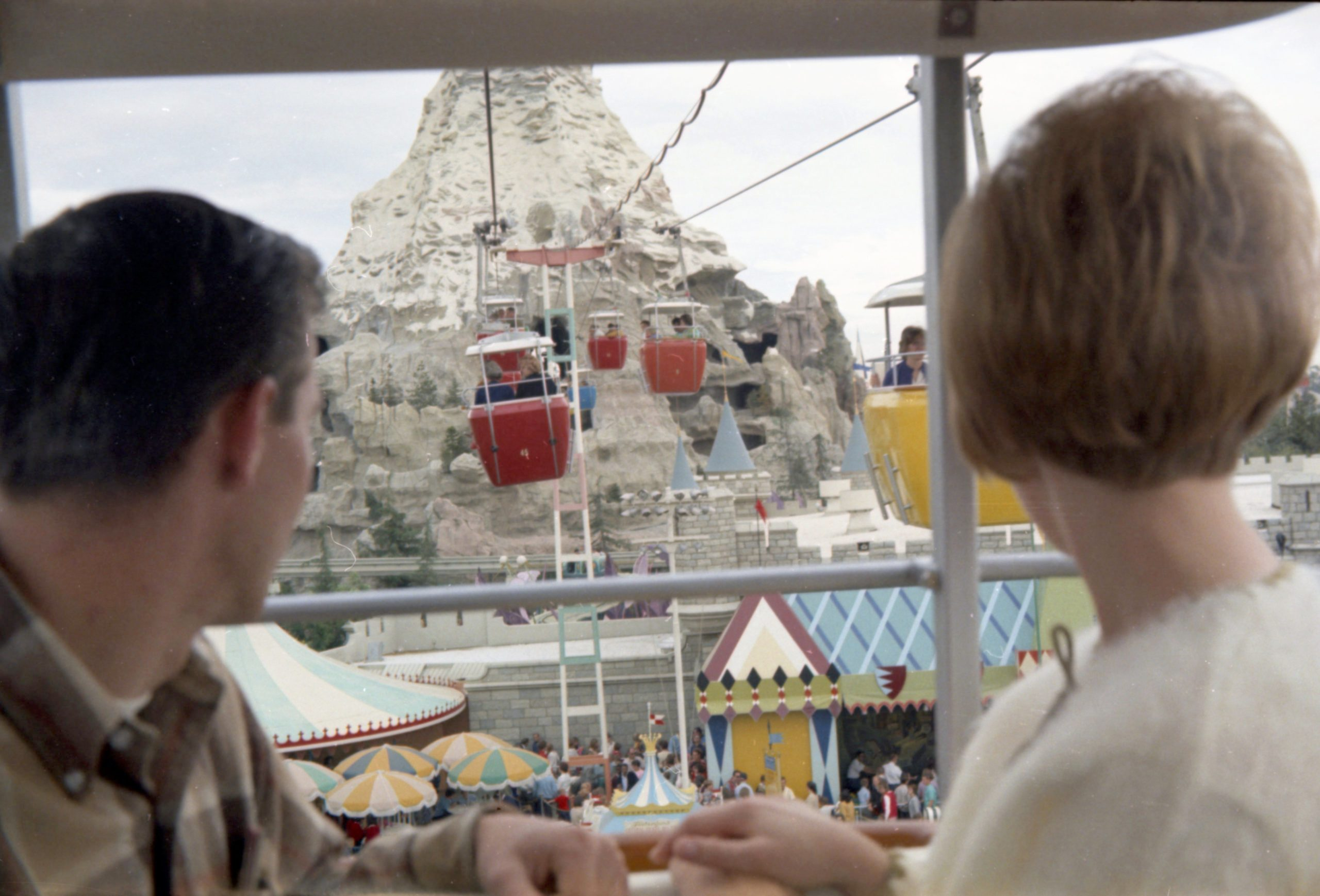 Disneyland in 1966