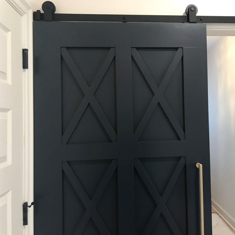 Black Barn Door