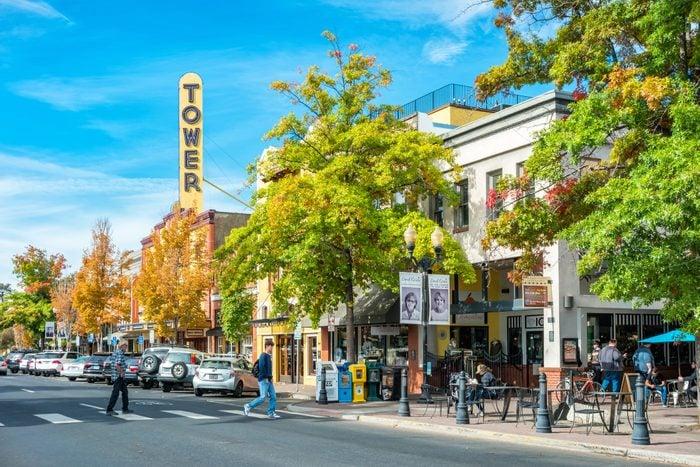 Downtown Bend Oregon USA