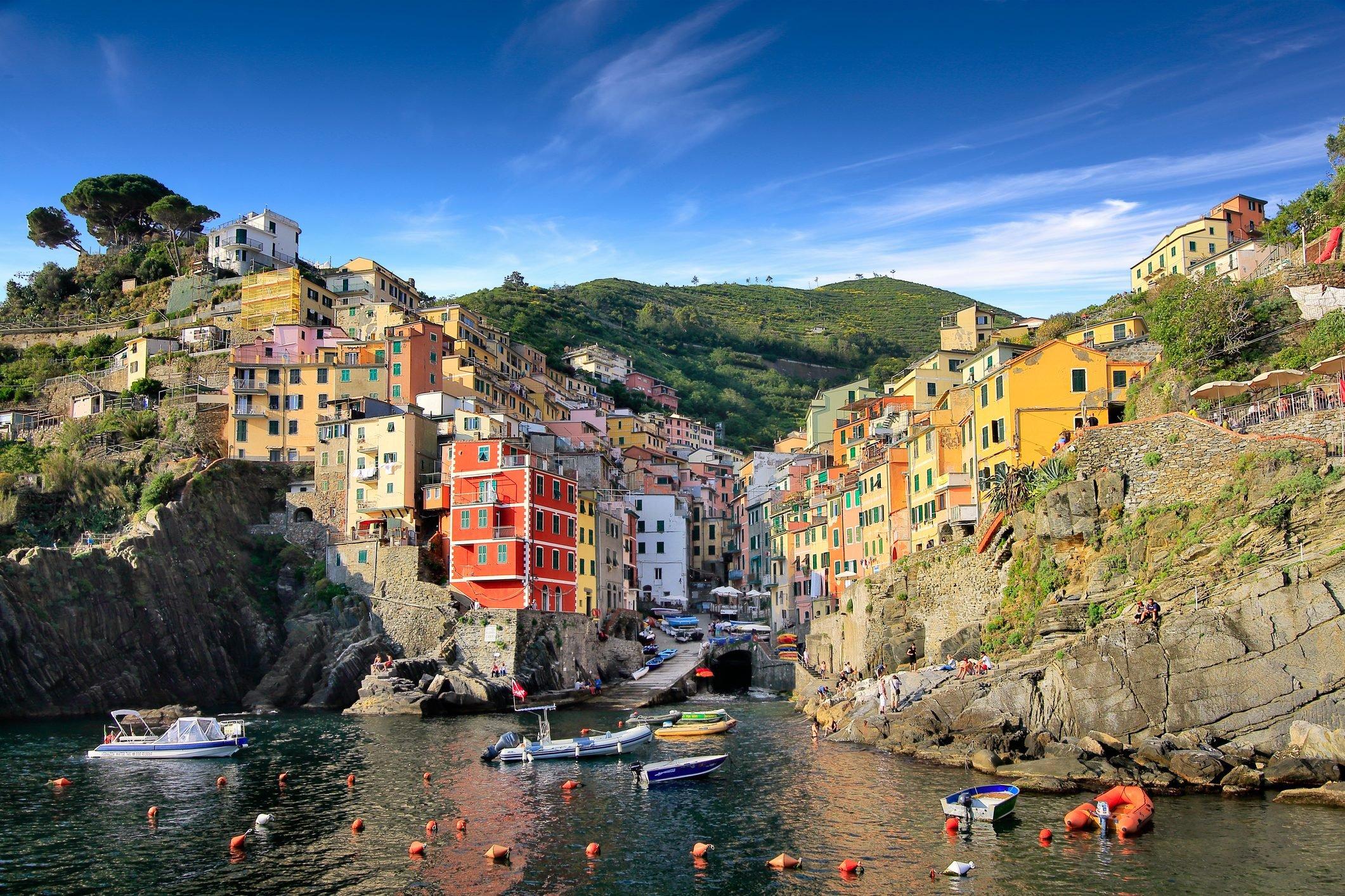 Italy, Liguria, La Spezia, Cinque Terre National Park, Riomaggiore