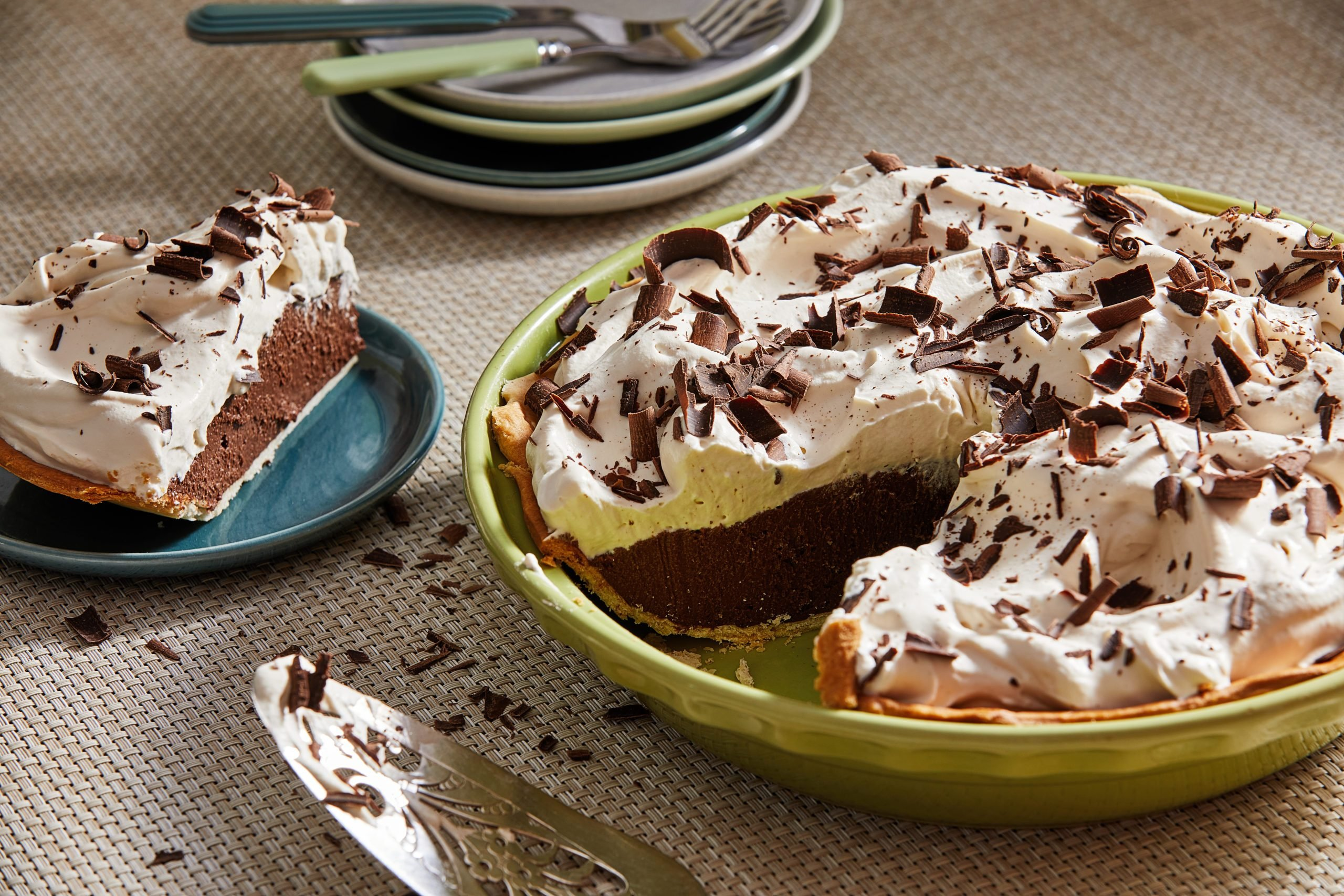 Chocolate Cream Pie for story in Voraciously