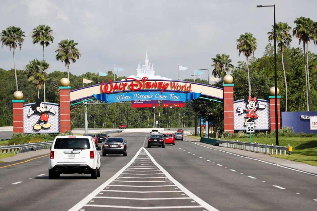Disney Reopens Its Magic Kingdom and Animal Kingdom Parks
