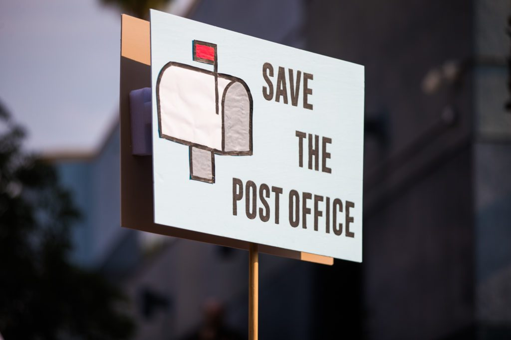 Rally To Save The Post Office - Los Angeles, CA