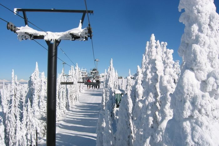 Fantastic day for skiing