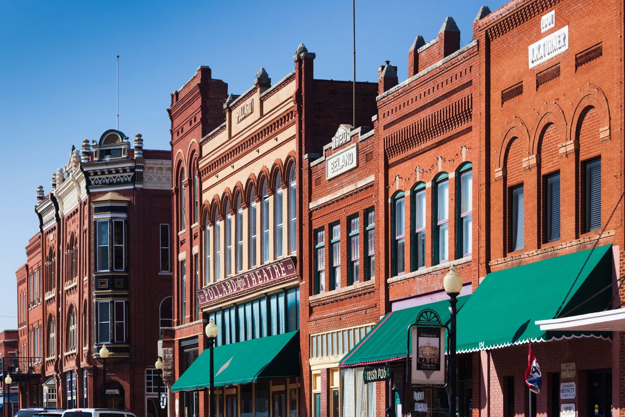 Guthrie, Oklahoma, Exterior View