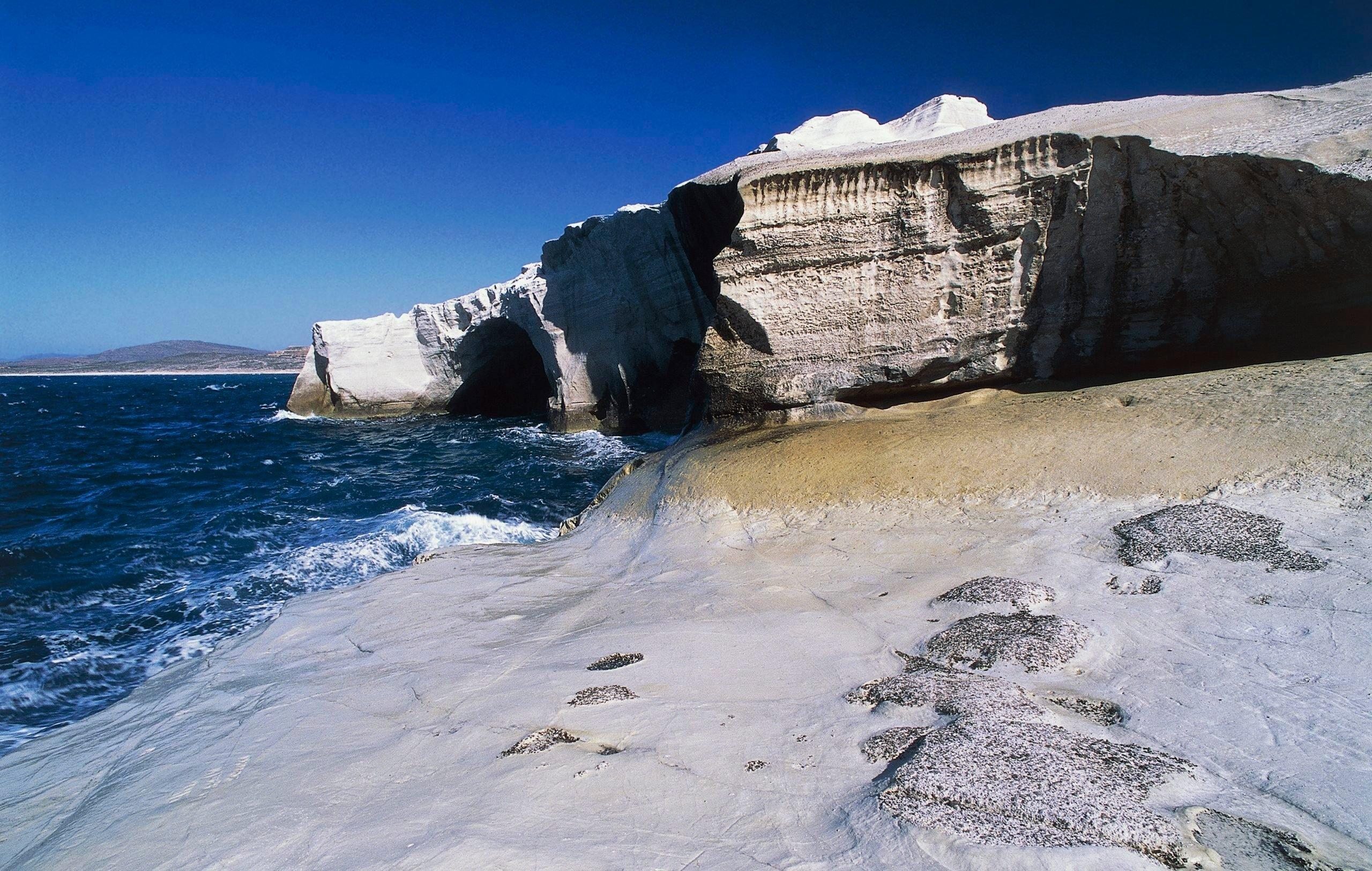 White Cliffs of Sarakiniko