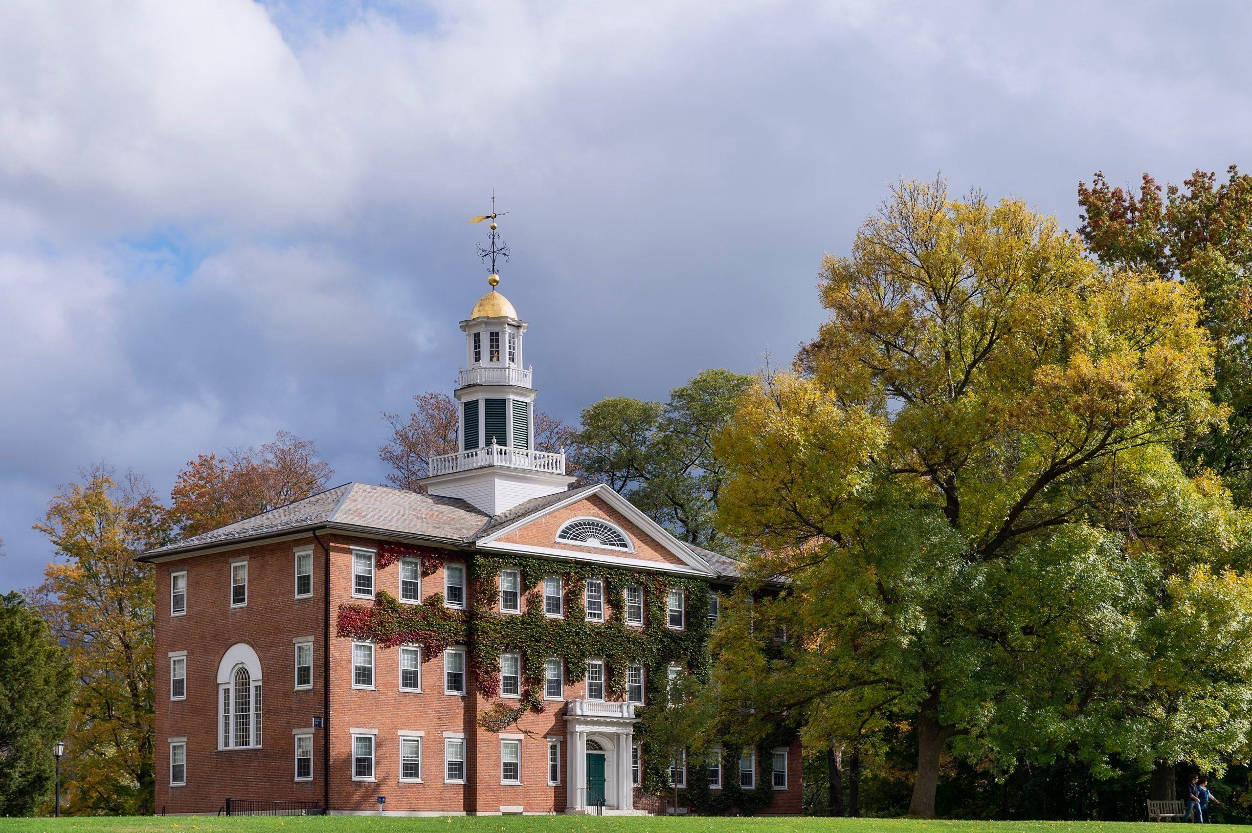 Griffin Hall, Williams College campus...