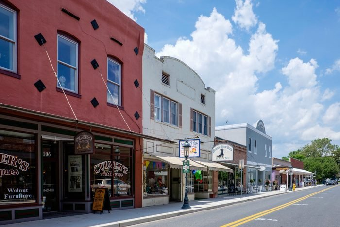 North Main Street, Berlin, Maryland