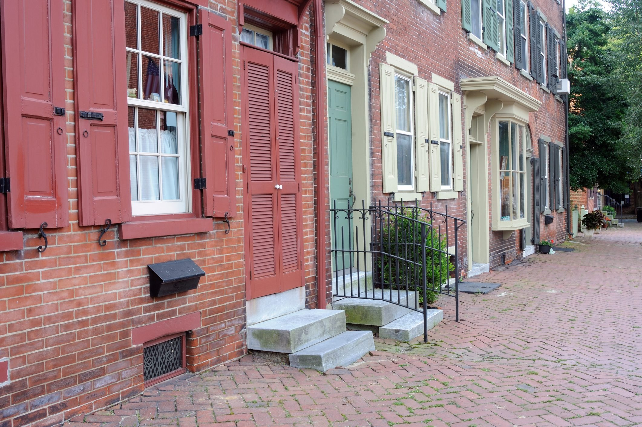 Historic District of New Castle in Delaware