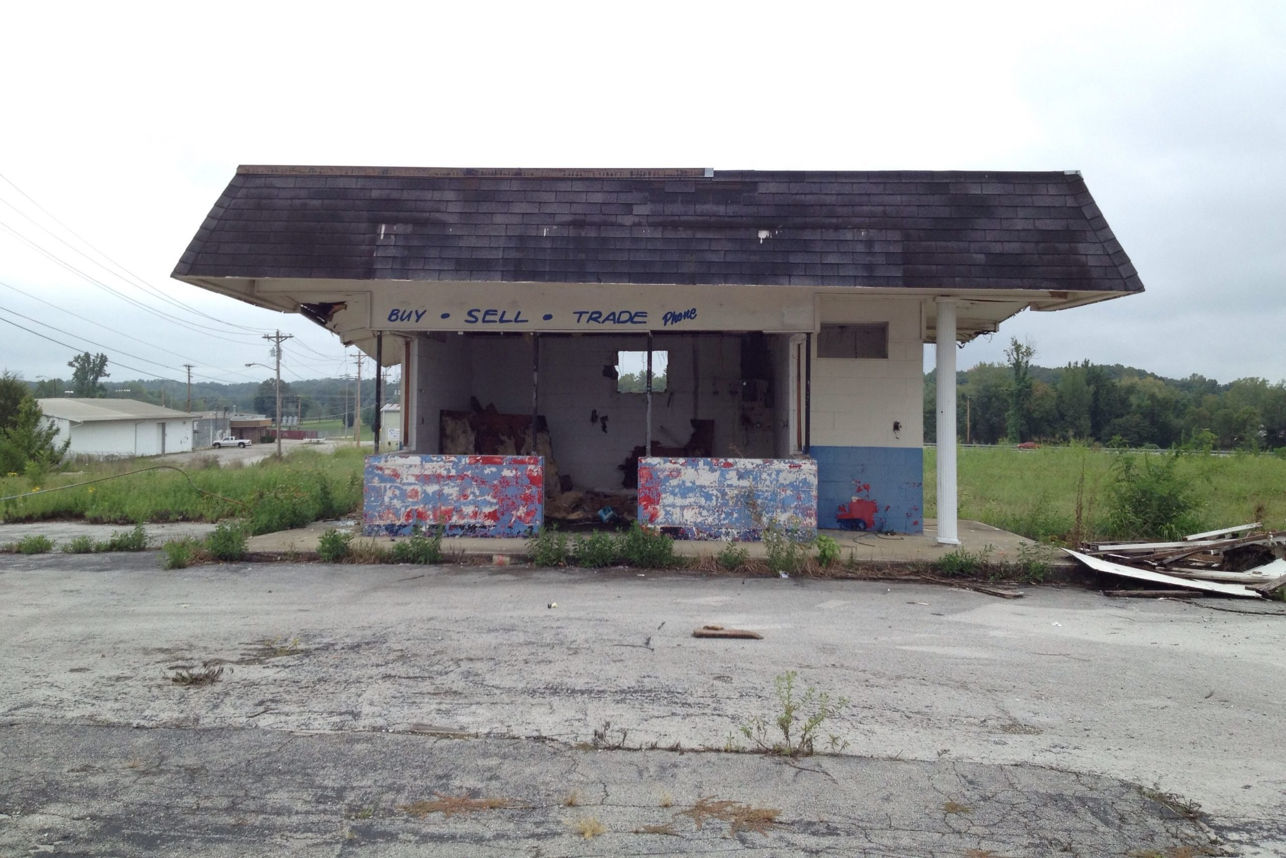 Abandoned Auto Lot