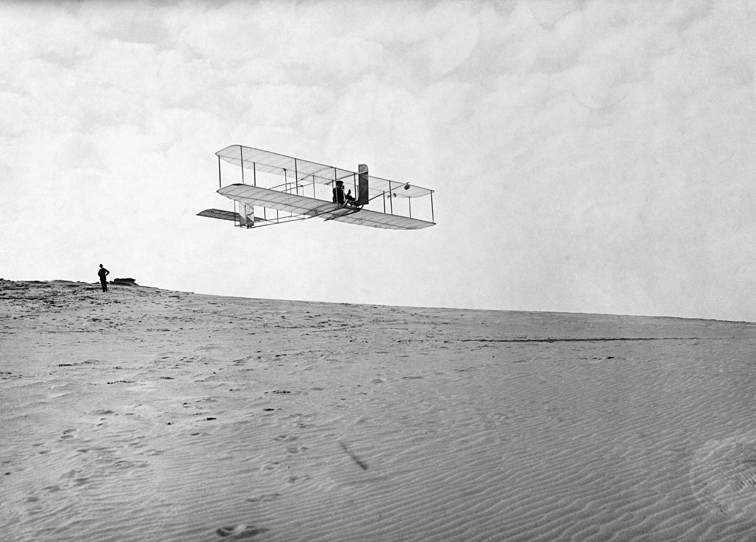 Wright Brothers at Kill Devil Hills