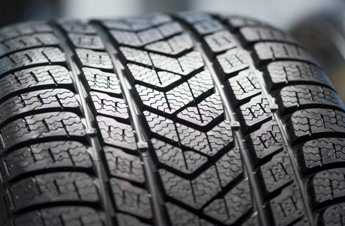 New car winter tire profile