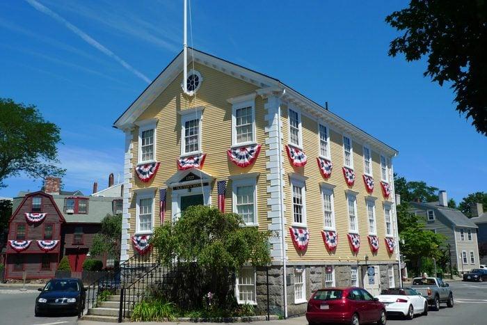 Old Town House, Marblehead, Massachusetts