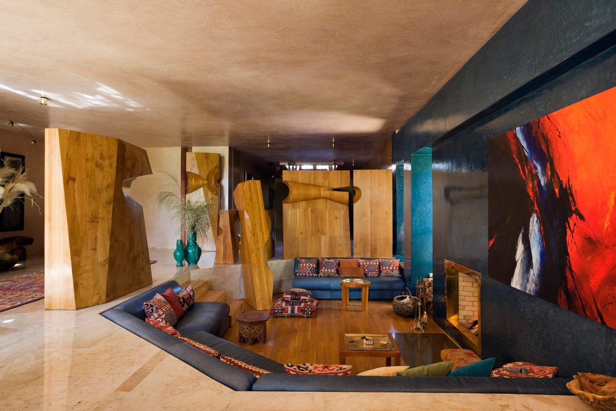 Zniber house in Morocco built by Jean-Francois Zevaco