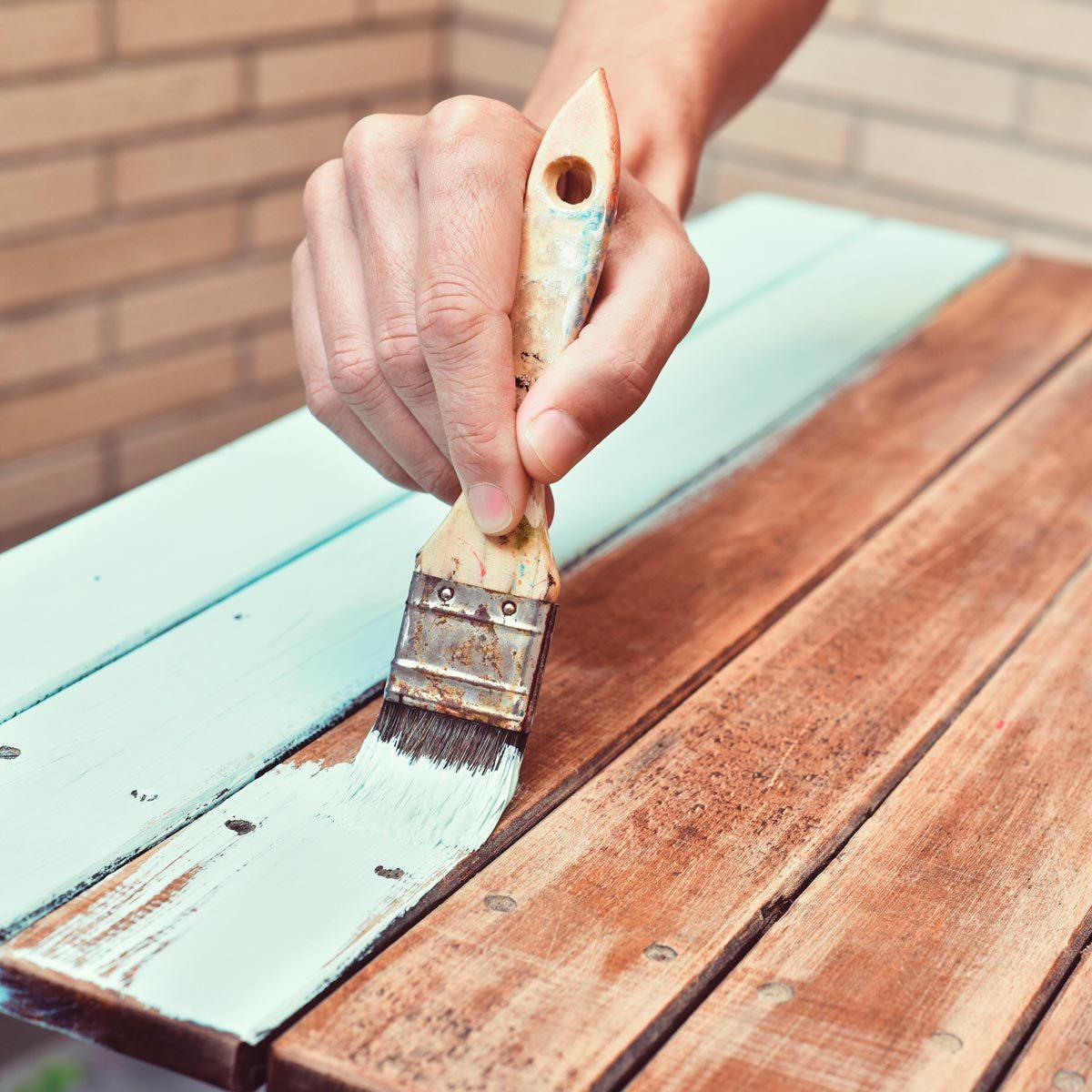firewood paint