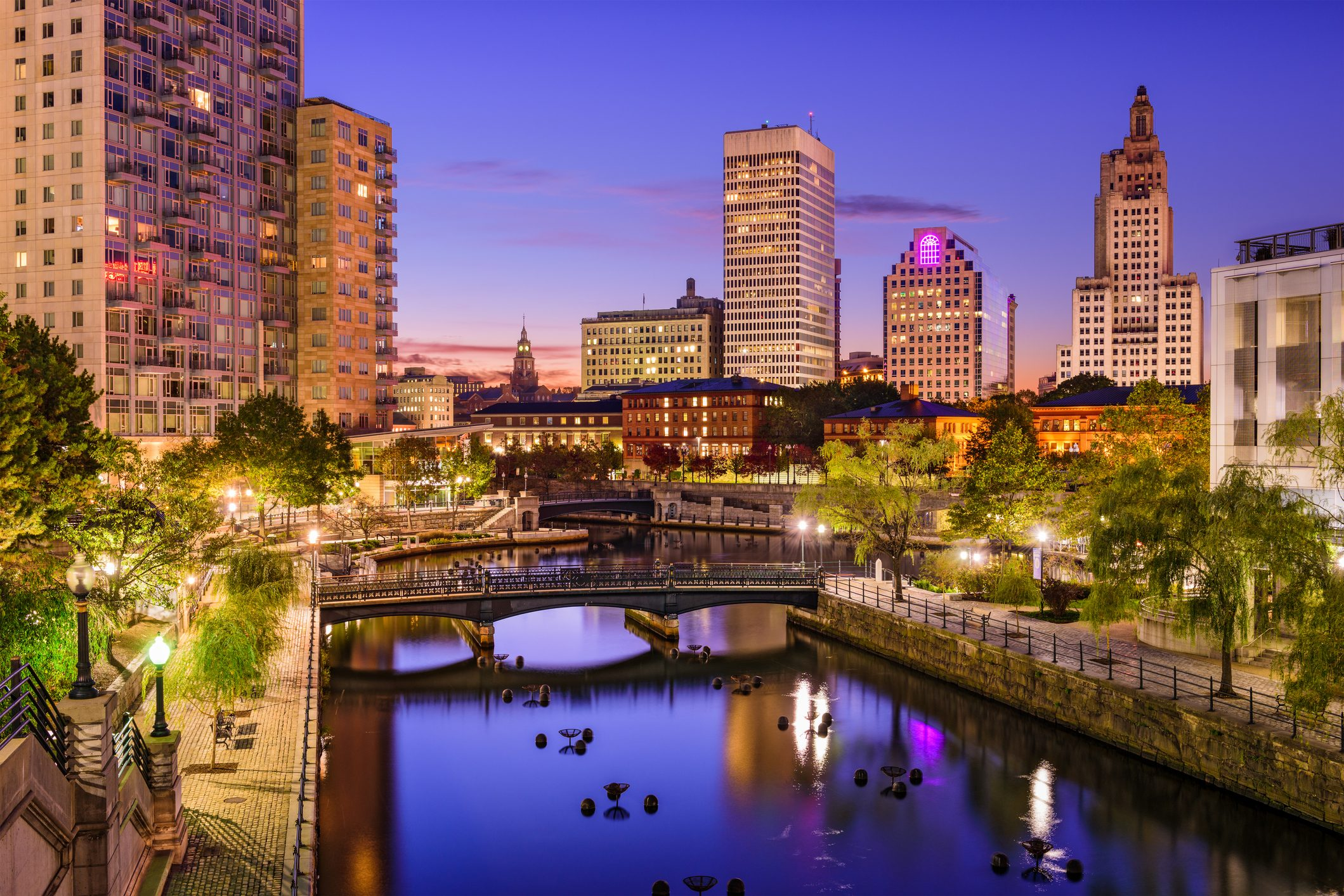 Providence, Rhode Island Cityscape