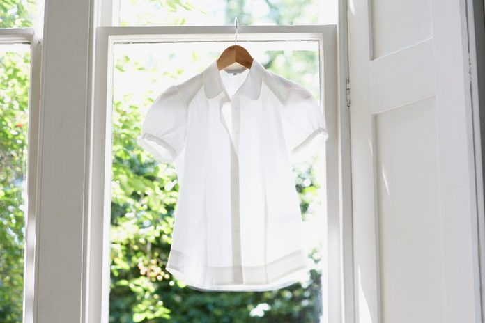 Blouse on Hanger