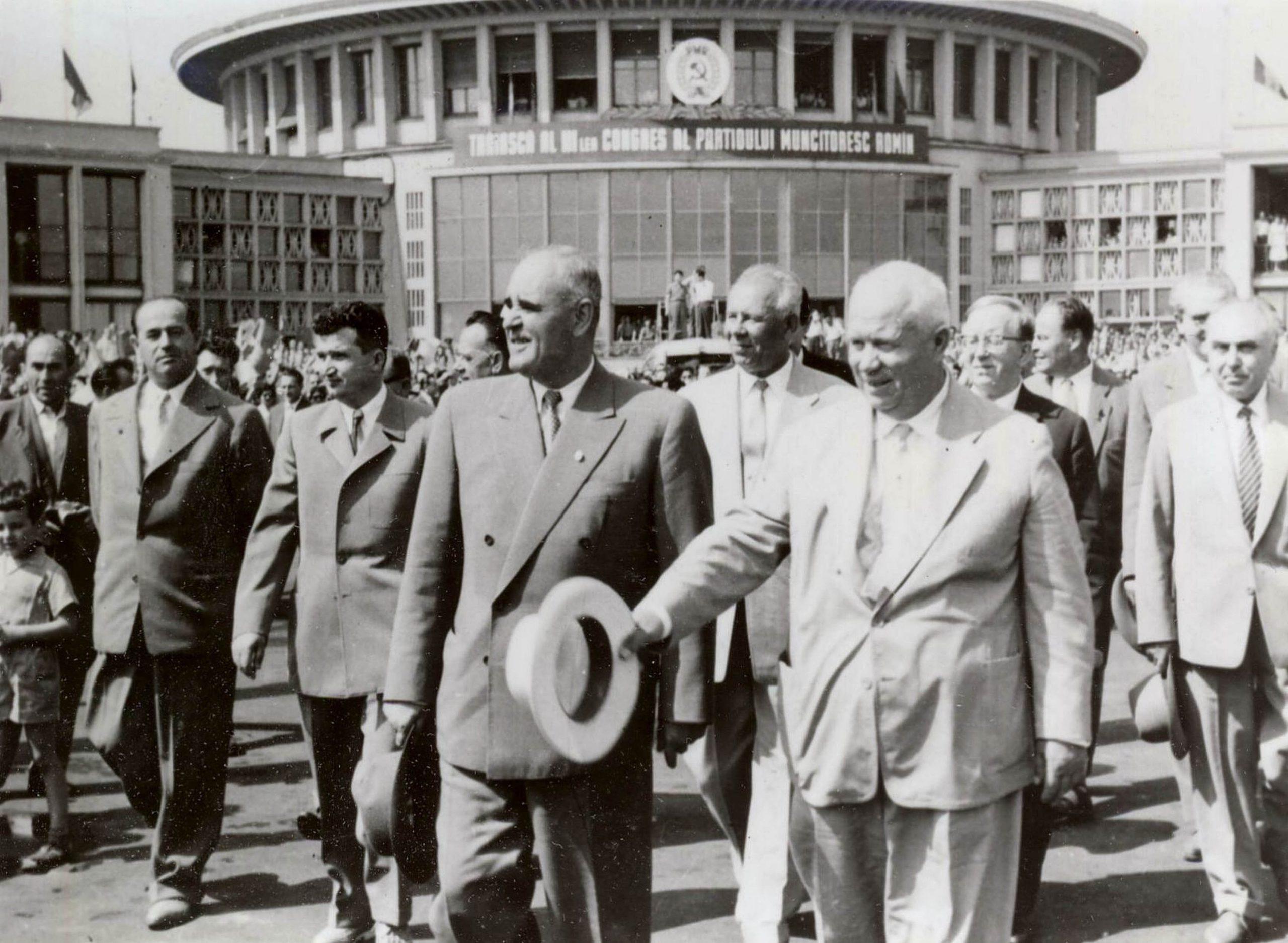 Romanian communist leader Gheorghe Gheorghiu-Dej.