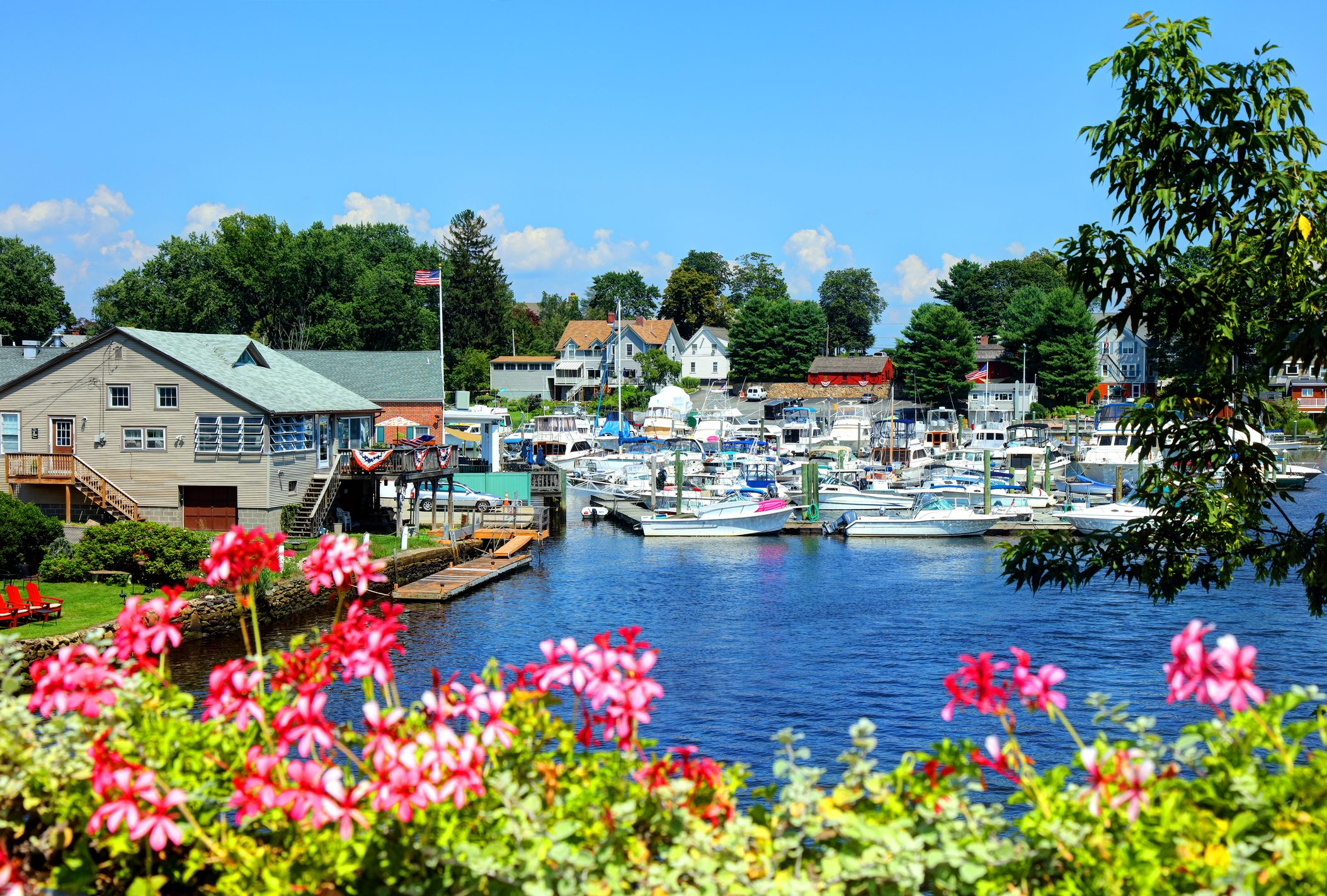 Pawtuxet Village in the cities of Warwick and Cranston
