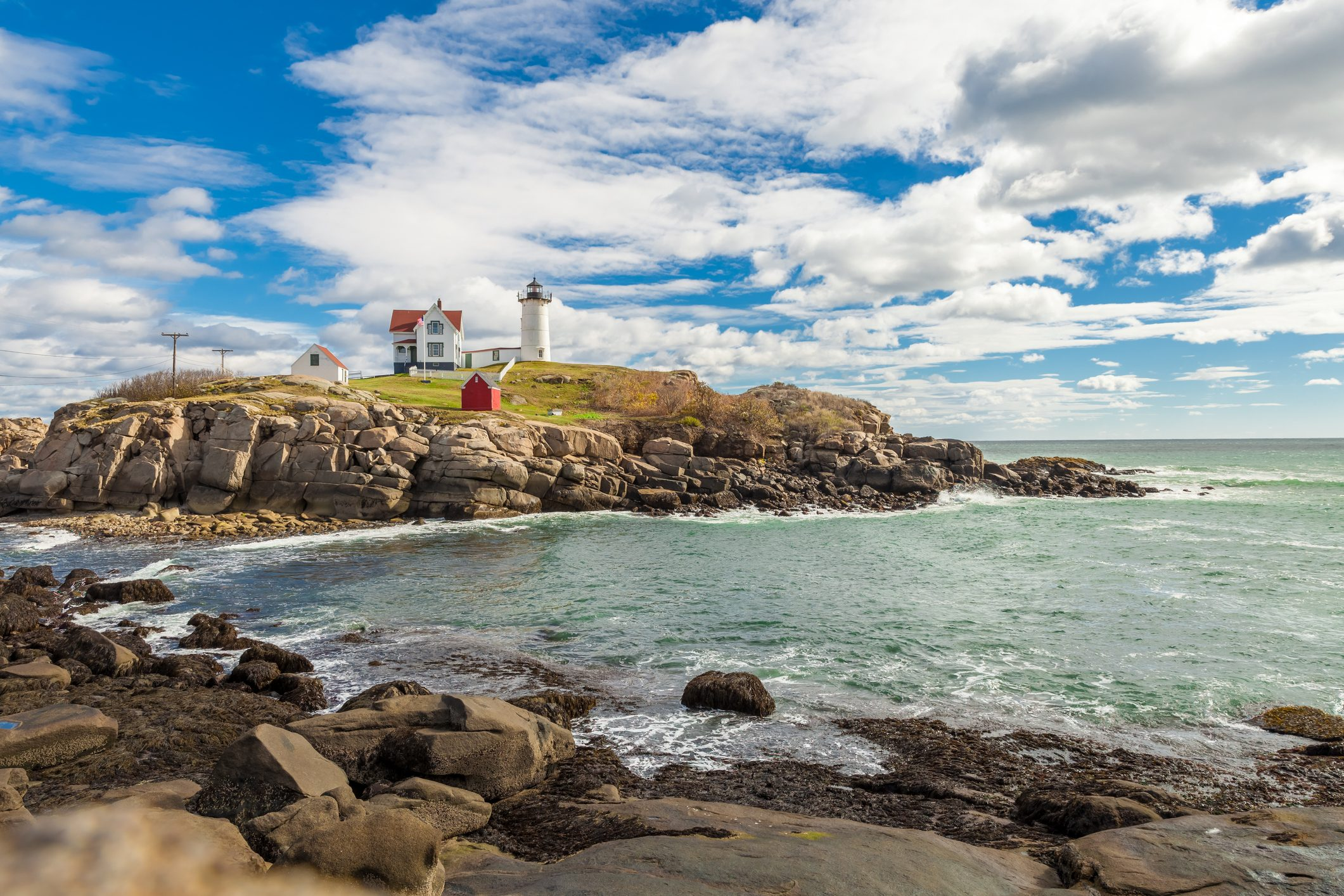 Nubble Lighthouse in Maine - New England