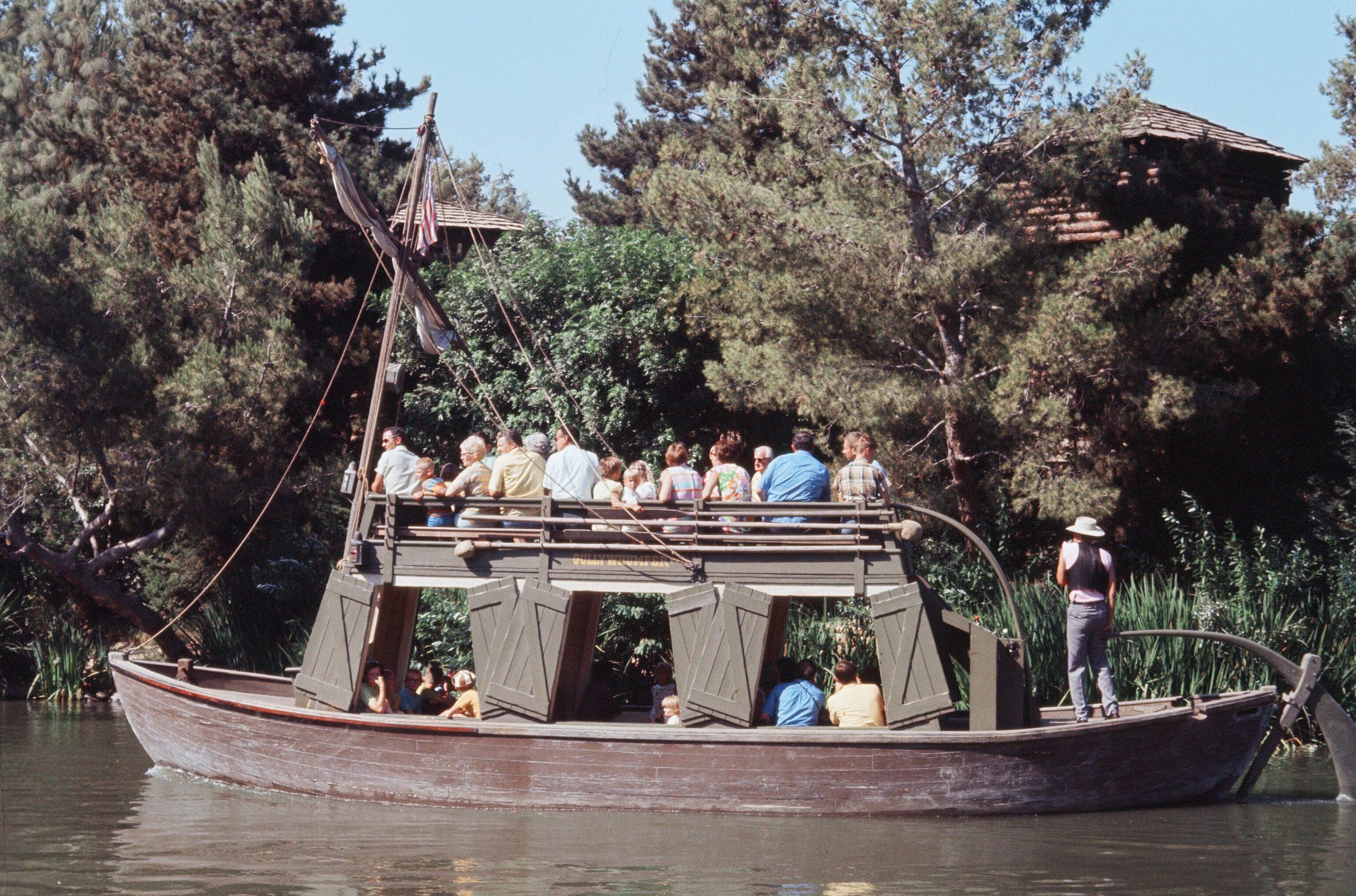 Disneyland, California 1970