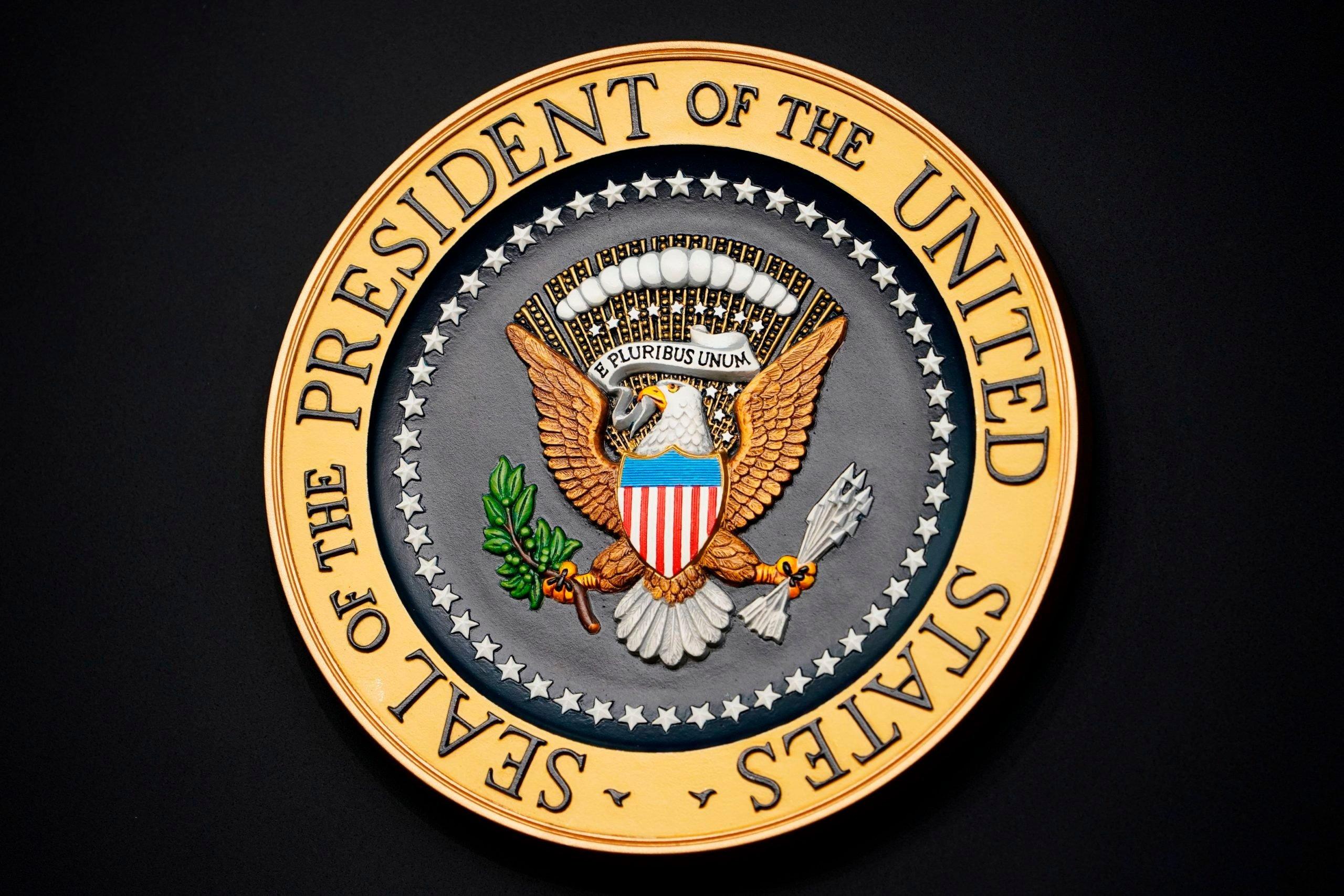 US-POLITICS-PRESIDENT-SEAL