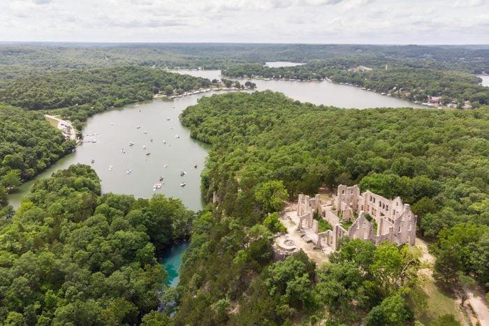 Lake of the Ozarks Castle Ruins