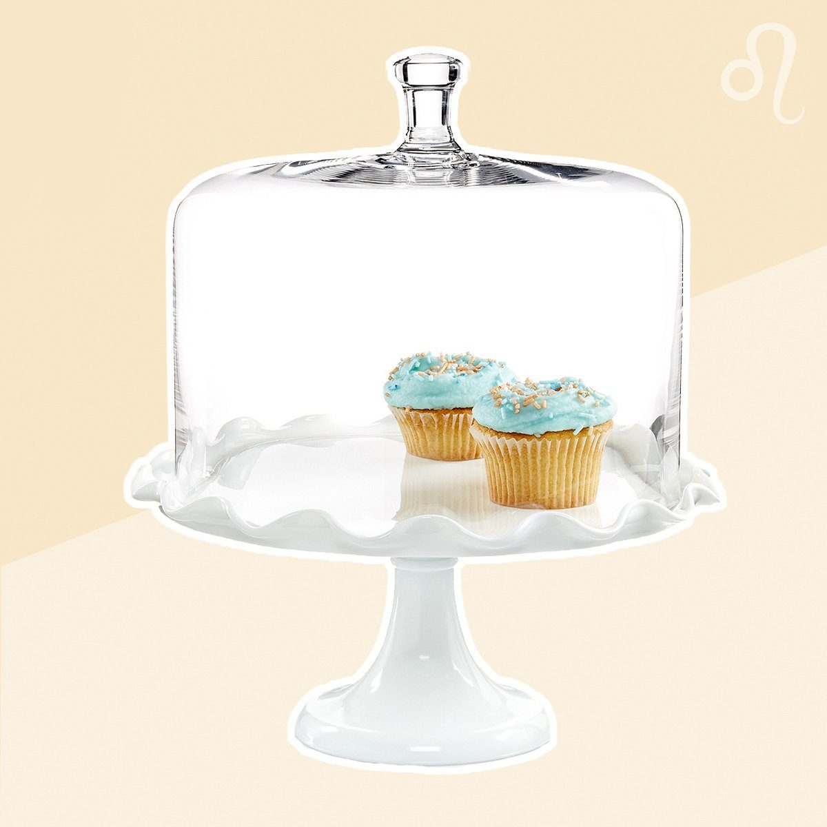 Leo cake dome lid