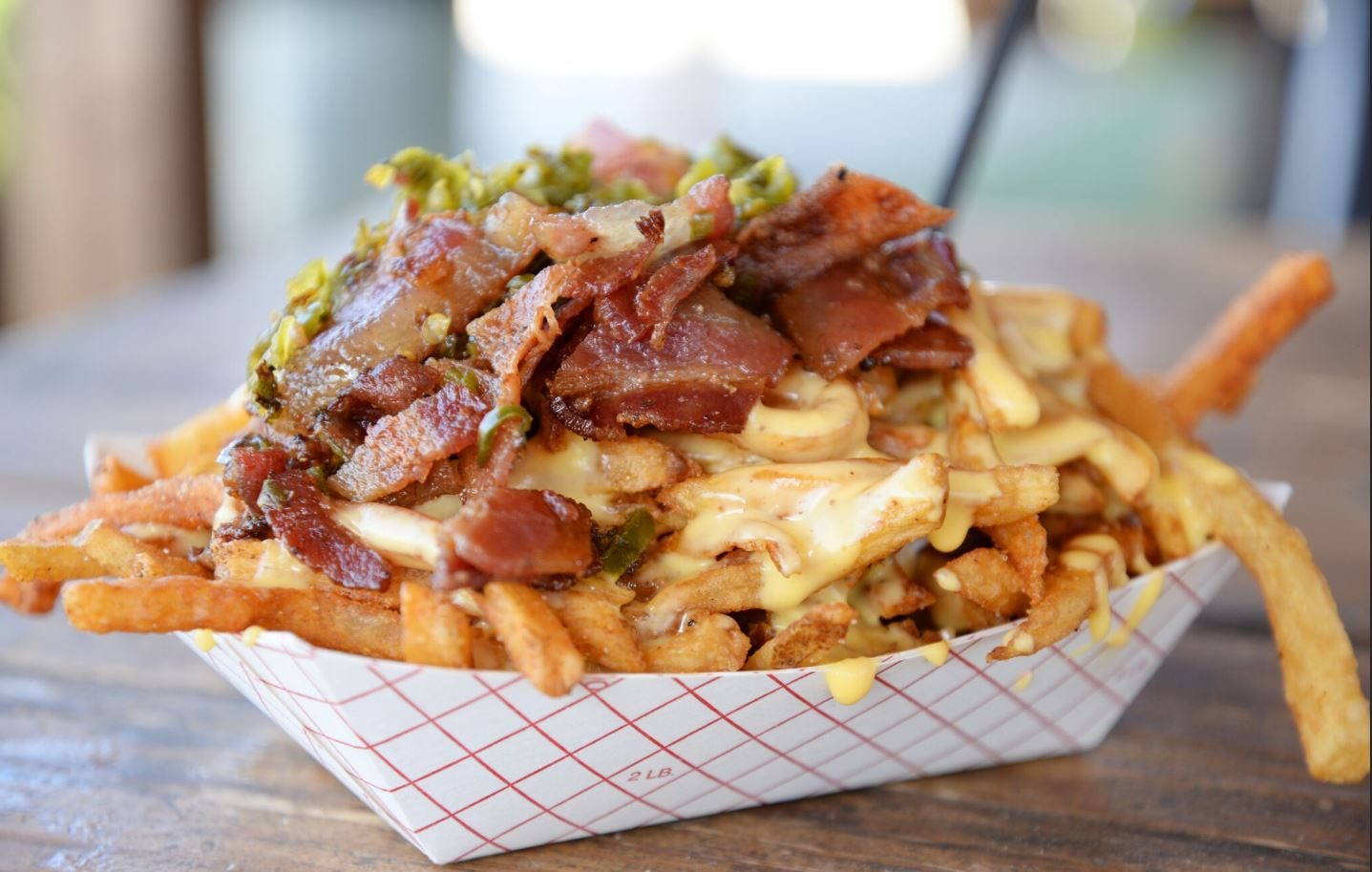 loaded cheese fries mod grill food truck