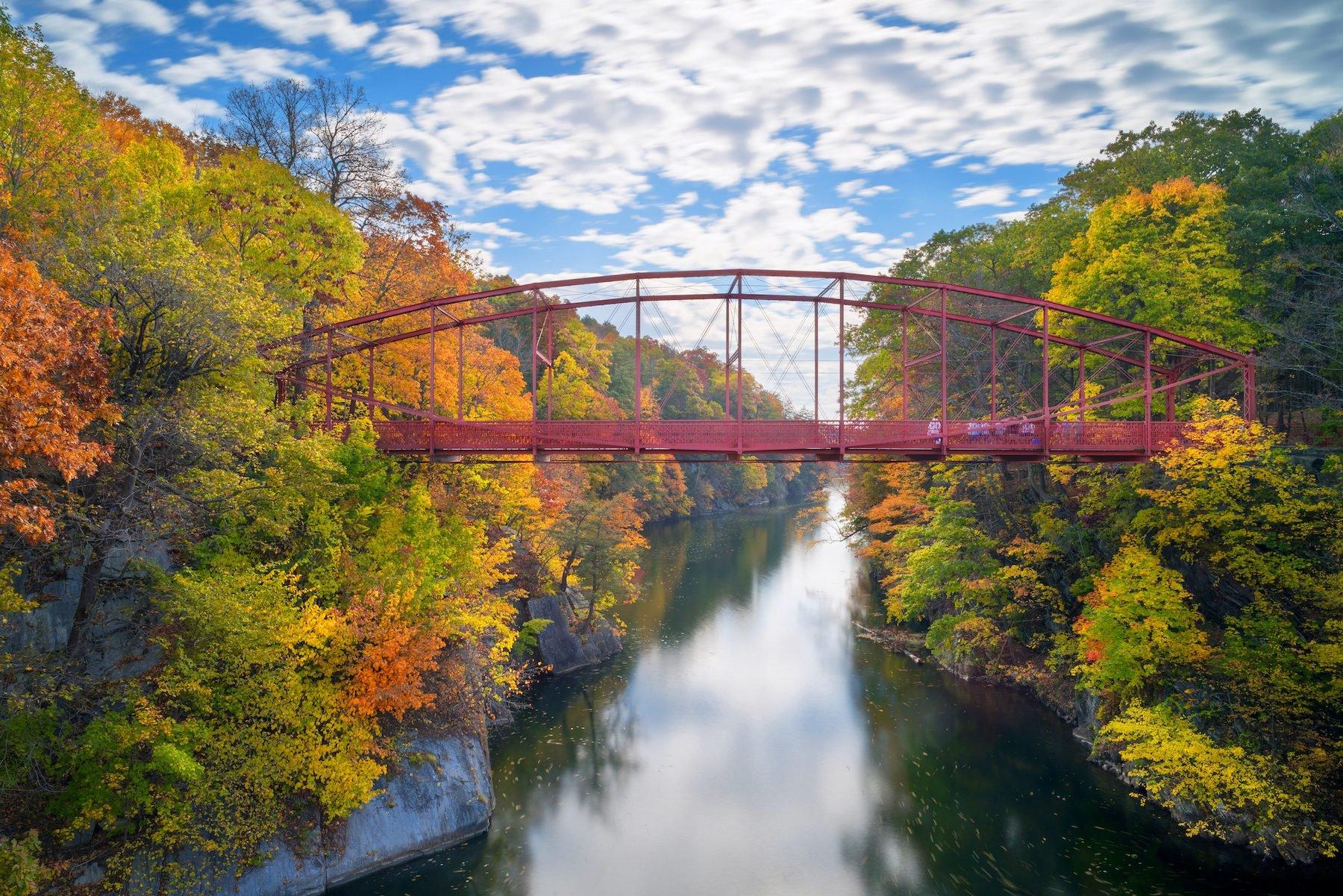 Lover's Leap Bridge, New Milford, Connecticut