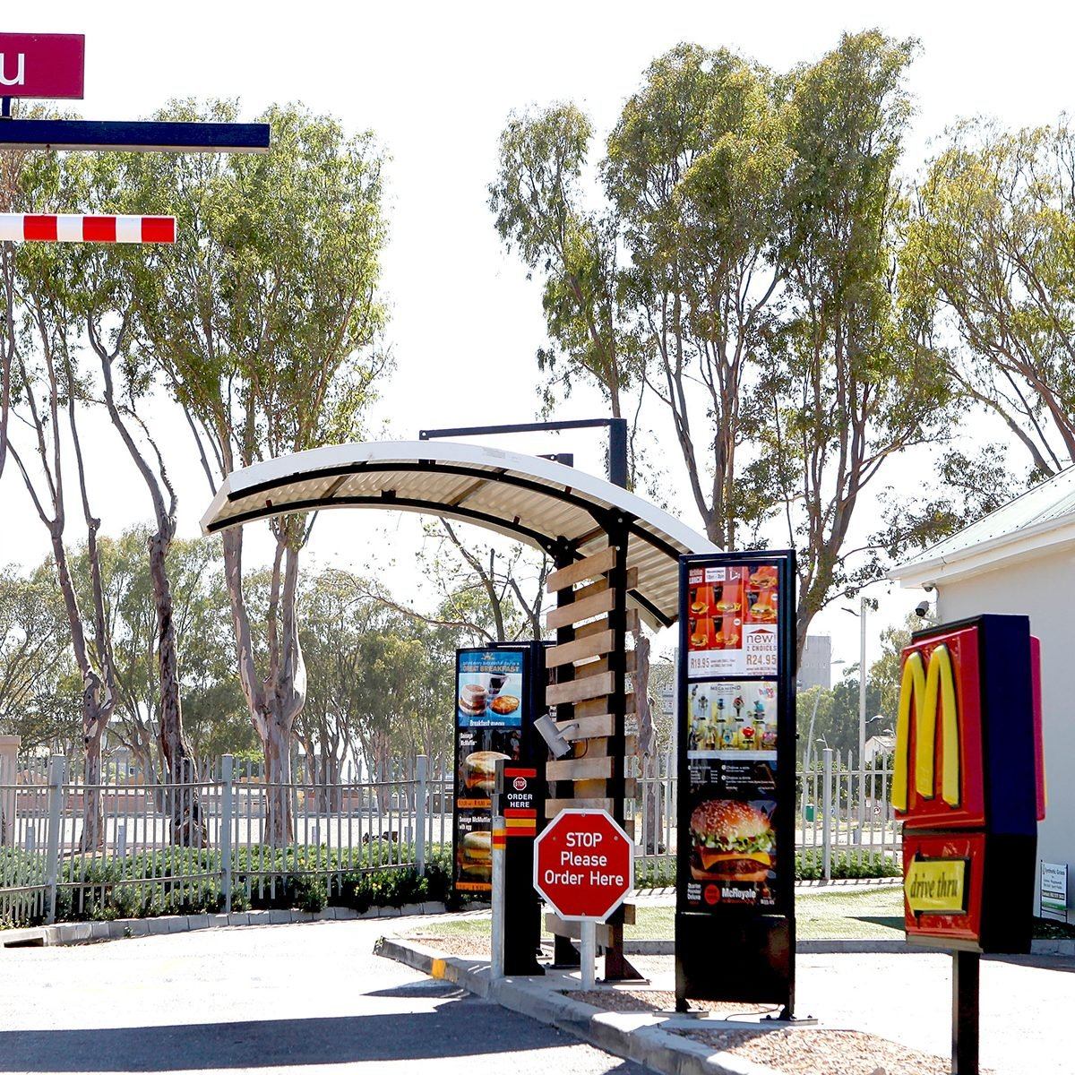 CAPE TOWN, SOUTH AFRICA - FEBRUARY 01: General view of the scene of the alleged incident, a McDonalds drive-through, opposite the Cape Town World Cup Stadium on the day when Lady Amelia Spencer was due to appear on charges for common assault on February 1, 2011 in Cape Town, South Africa. The 18-year-old daughter of Earl Spencer was involved in a row that errupted in a McDonald's drive-through, not far from her home in Cape Town in the early hours of December 22, 2010. Today however she was not seen arriving or leaving the court and it is thought that this was due to avoid the media. (Photo by Michelly Rall/WireImage)