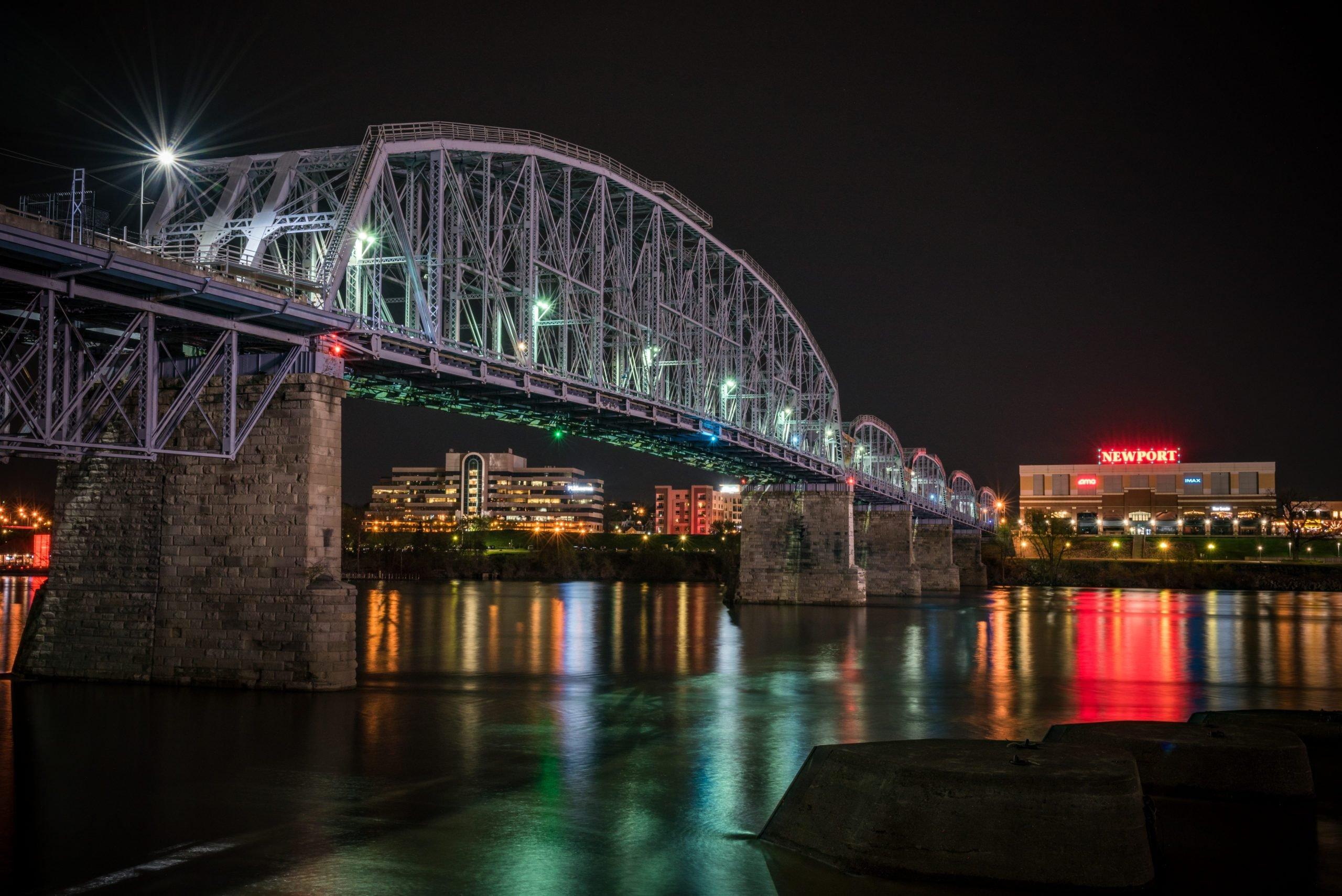 Newport Southbank Bridge/Purple People Bridge, Cincinnati, Ohio
