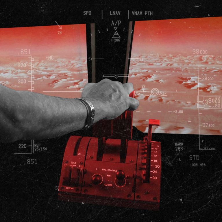 Airplane pilot collage