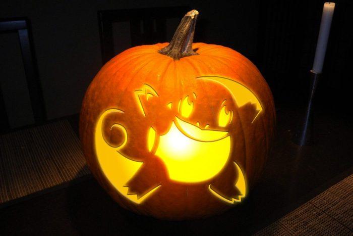 Pokémon Squirtle Pumpkin Etsy
